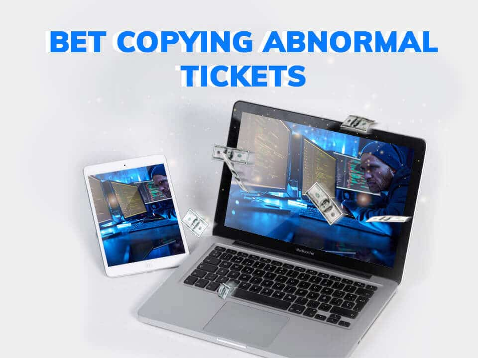VScan: Bet Copying Abnormal Tickets